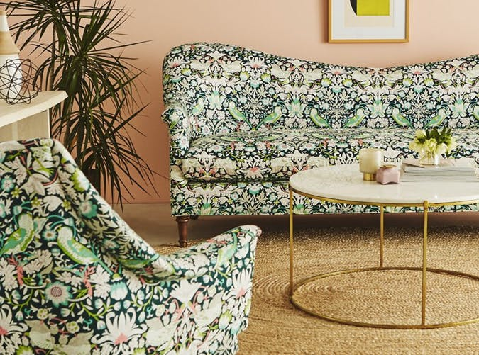 Anthropologie and Liberty of London Just Launched a Collab and It's Like a Garden Party in Our Living Room