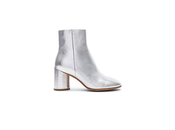 metallic booties for fall 2