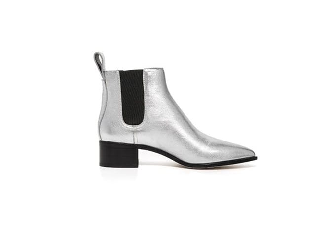 metallic booties for fall 3