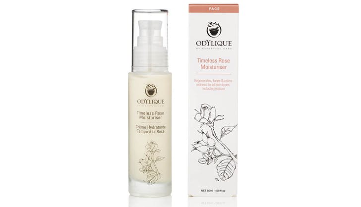 odylique timeless rose moisturizer all natural beautysensistive skin