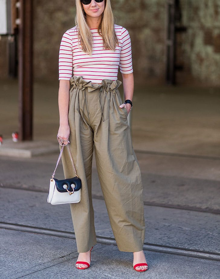 bb4b06bdb8a365 Khaki Paper Bag Trousers Outfit | Stanford Center for Opportunity ...