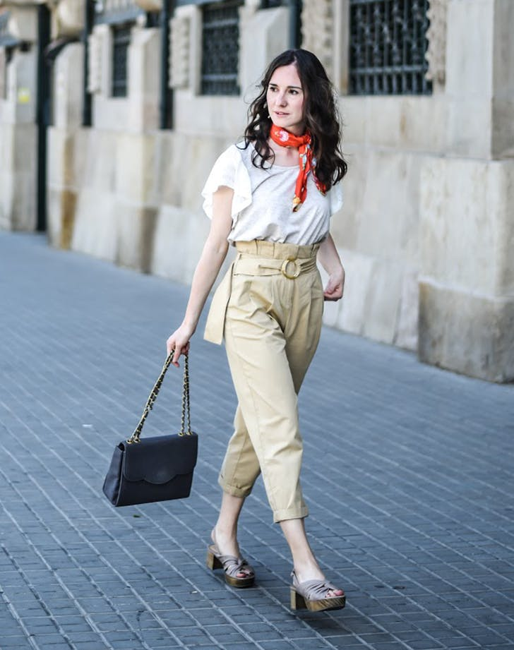 paper bag waist fall fashion trends to wear now