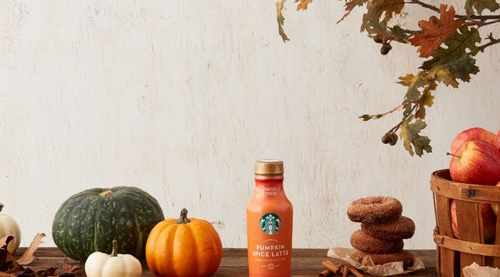 This Fall, Starbucks Pumpkin Spice Mania Will Descend on Your Grocery Store