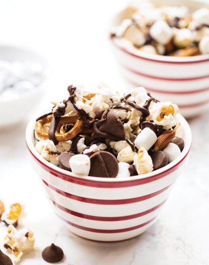 quick Dessert popcorn