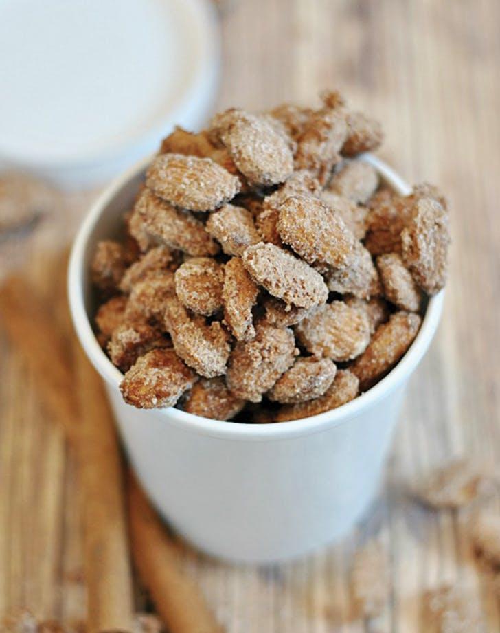 quick dessert almonds