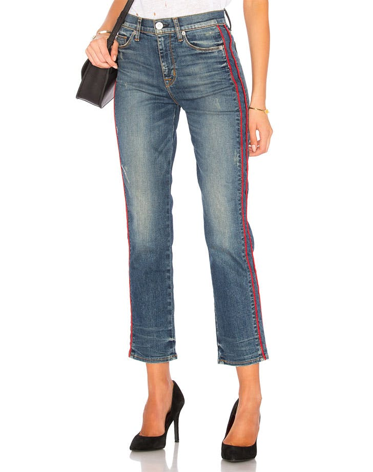 racing stripes denim trends NY1