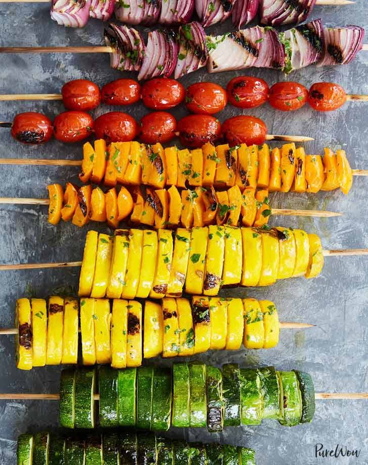 rainbow veggie kebabs 921