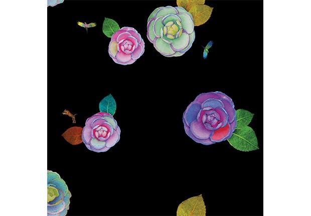 removable wallpaper floral 1