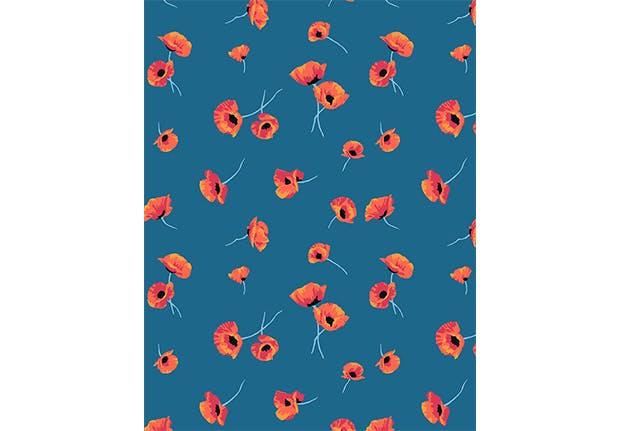 removable wallpaper floral 5