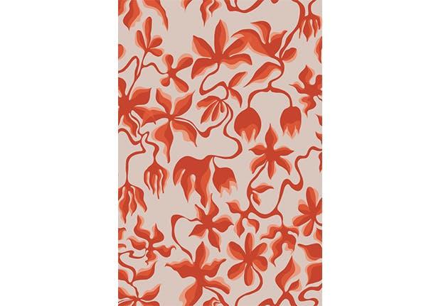 removable wallpaper floral 9