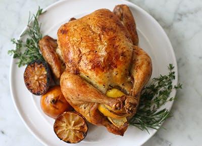 roast chicken 290