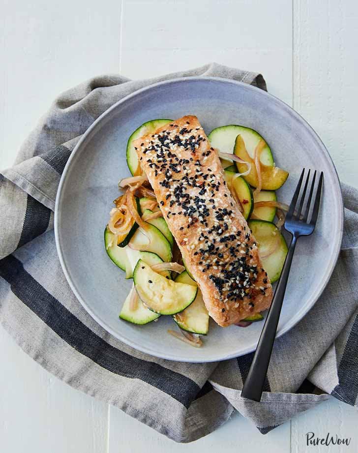 sesame ginger salmon 921