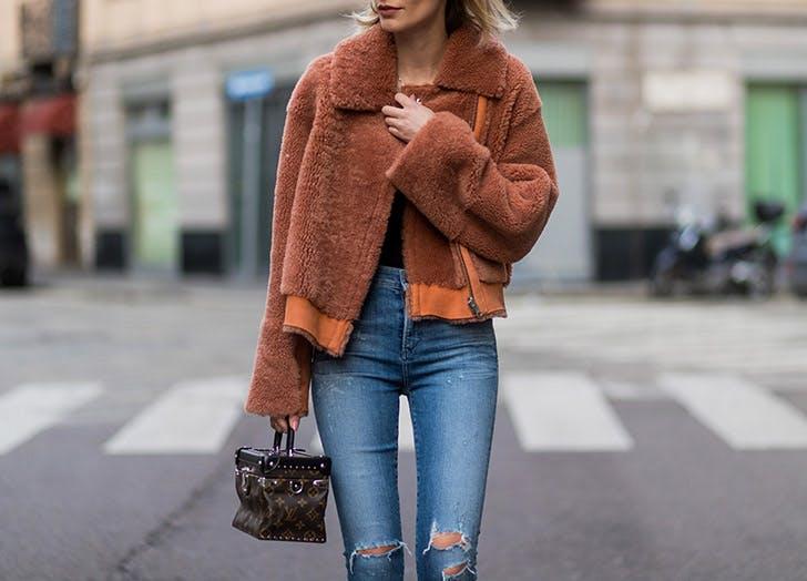 shearling fall jackets NY