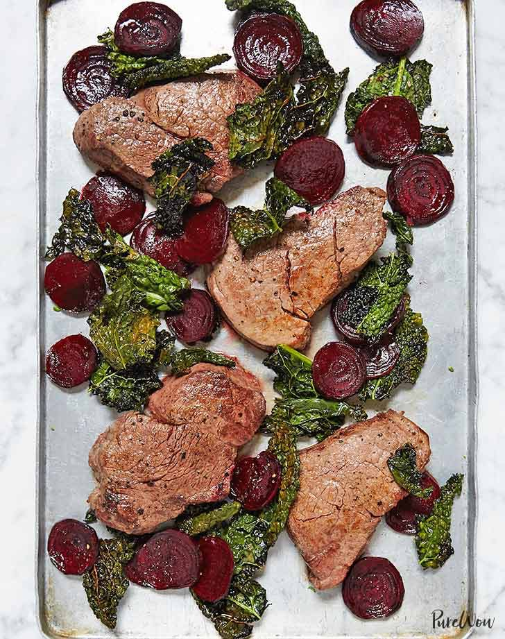 sheet pan steak 921