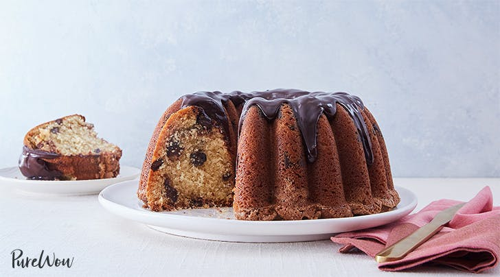 Snickerdoodle Chocolate-Chunk Bundt Cake