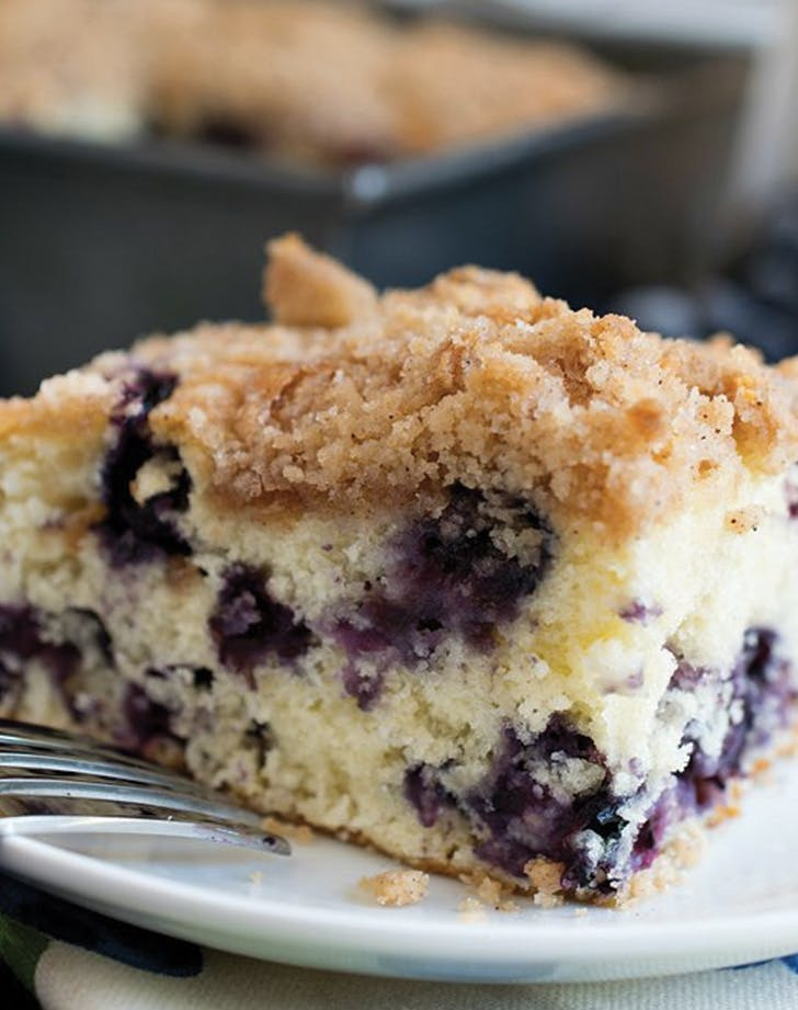 southern desserts blueberry
