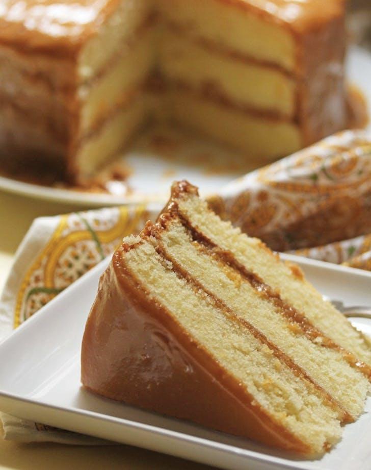 southern desserts caramel cake