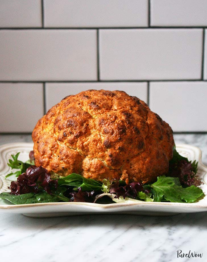 spicy whole roasted cauliflower 921
