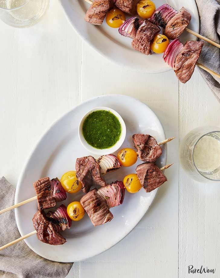 steak and chimichurri skewers 9211