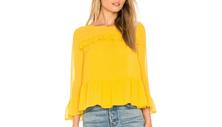 stylish tops to wear with jeans 15