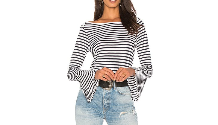 stylish tops to wear with jeans 33