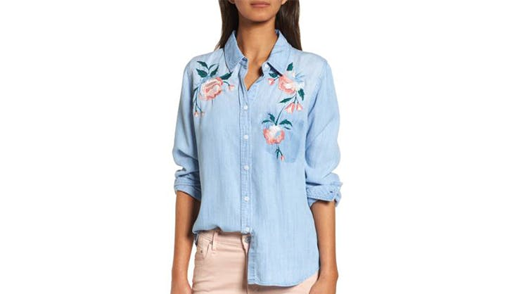stylish tops to wear with jeans 5