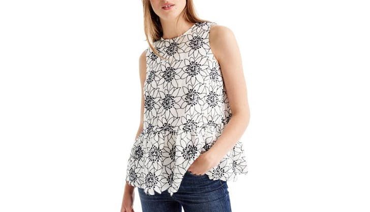 stylish tops to wear with jeans 8