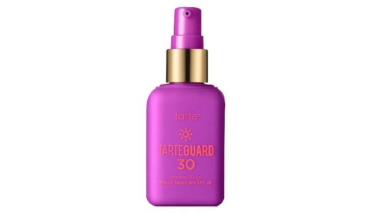 tarte sunscreen all natural beauty sensistive skin
