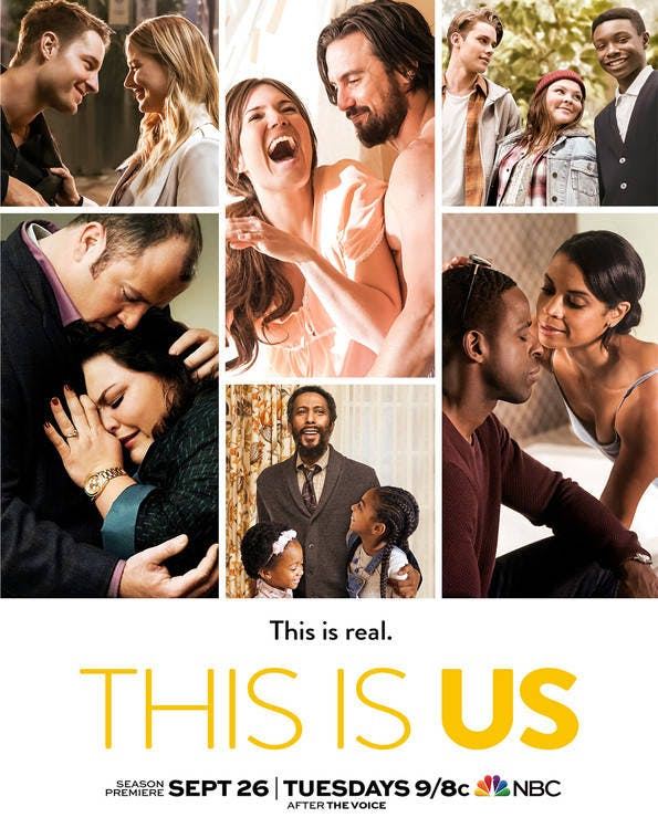 Stop, It's Pearson Time! The New 'This Is Us' Season 2 Poster Is Here