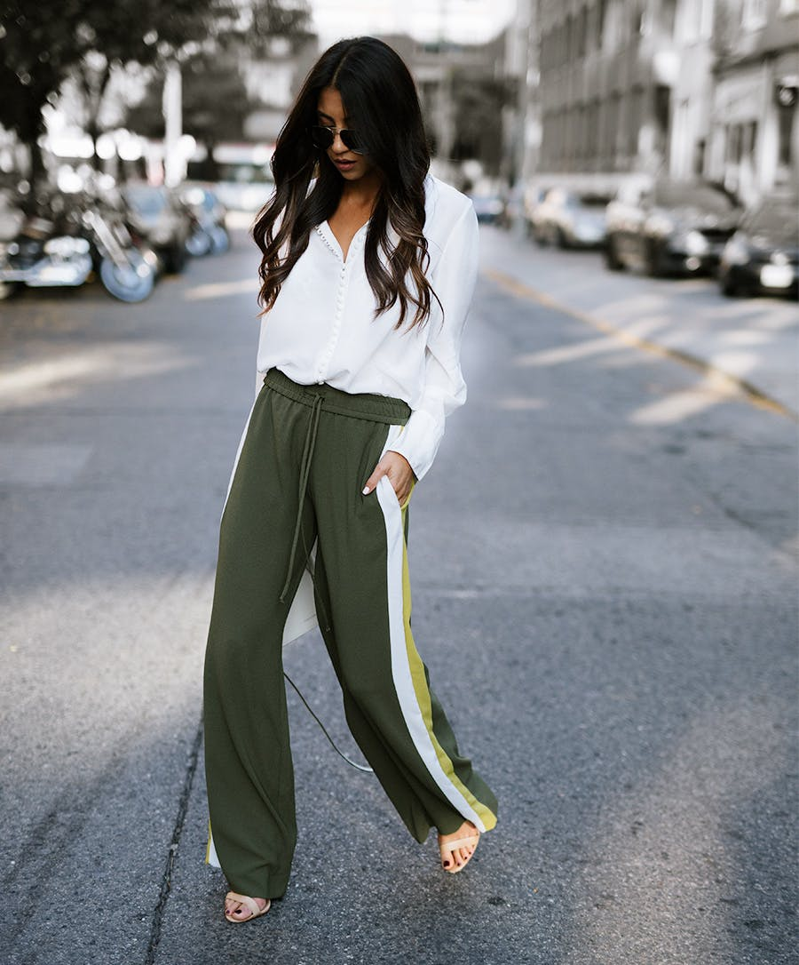 track pants fall fashion trends to wear now
