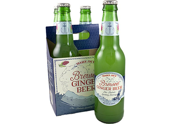 trader joes brewed ginger beer 524