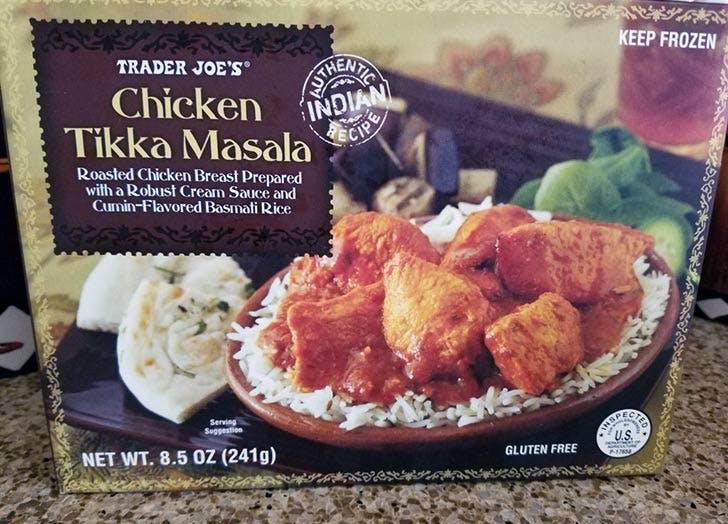 trader joes chicken tikka masala 524