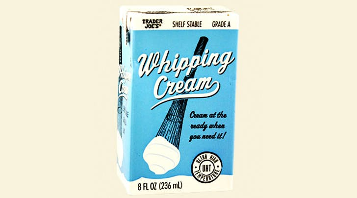This Mind-Boggling Trader Joe's Whipping Cream Lasts for 6 Months (Really)