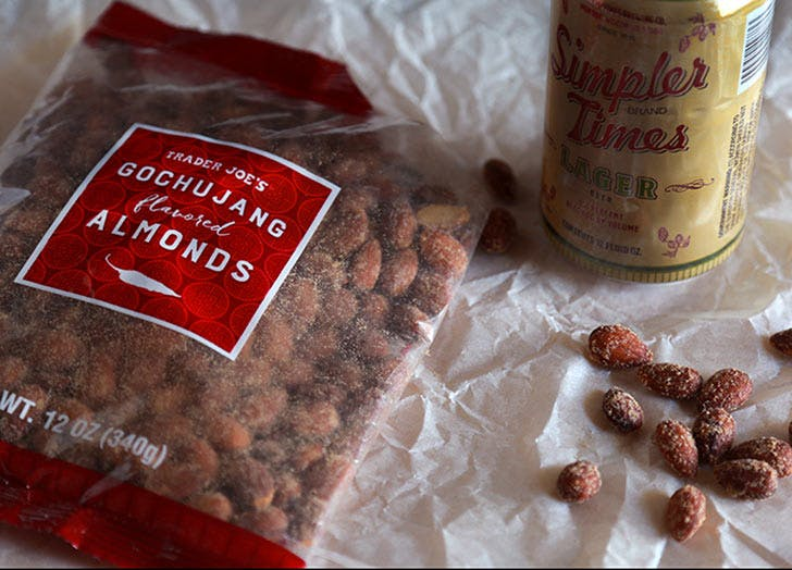 trader joes gochujang almonds 524