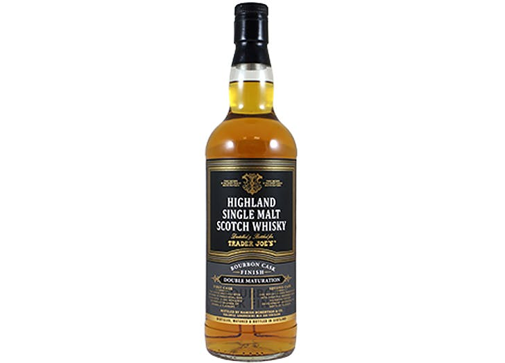 trader joes highland single malt scotch whiskey 524