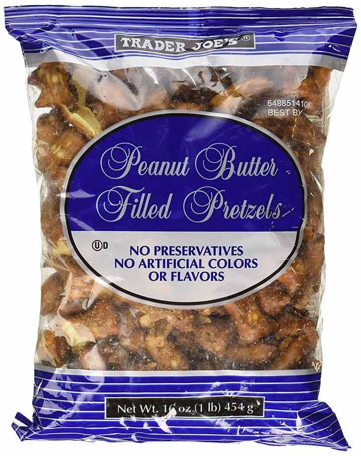 trader joes peanut butter filled pretzels 921