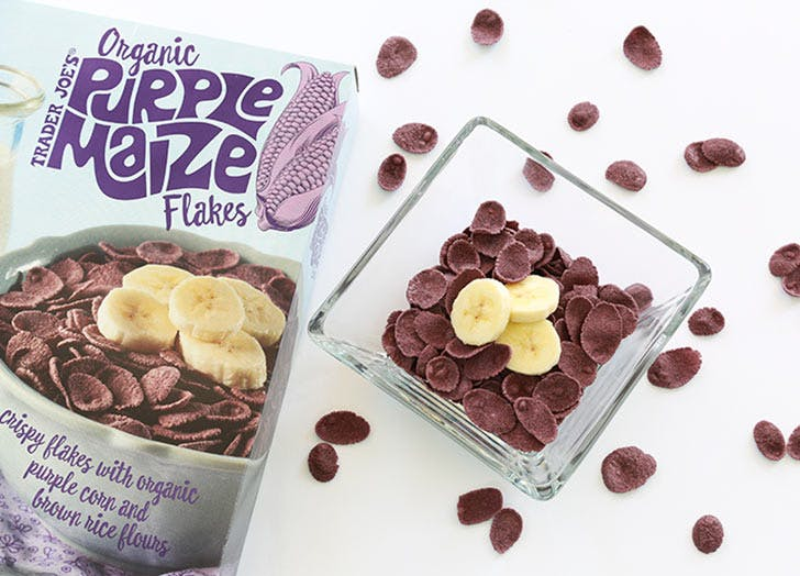 trader joes purple maze cereal 524