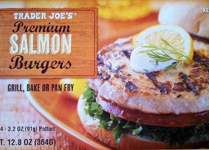 trader joes salmon burgers 524