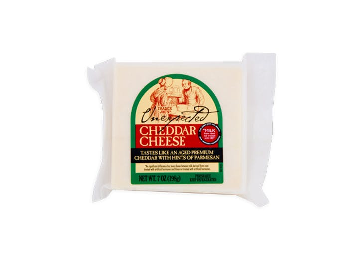 trader joes unexpected cheddar