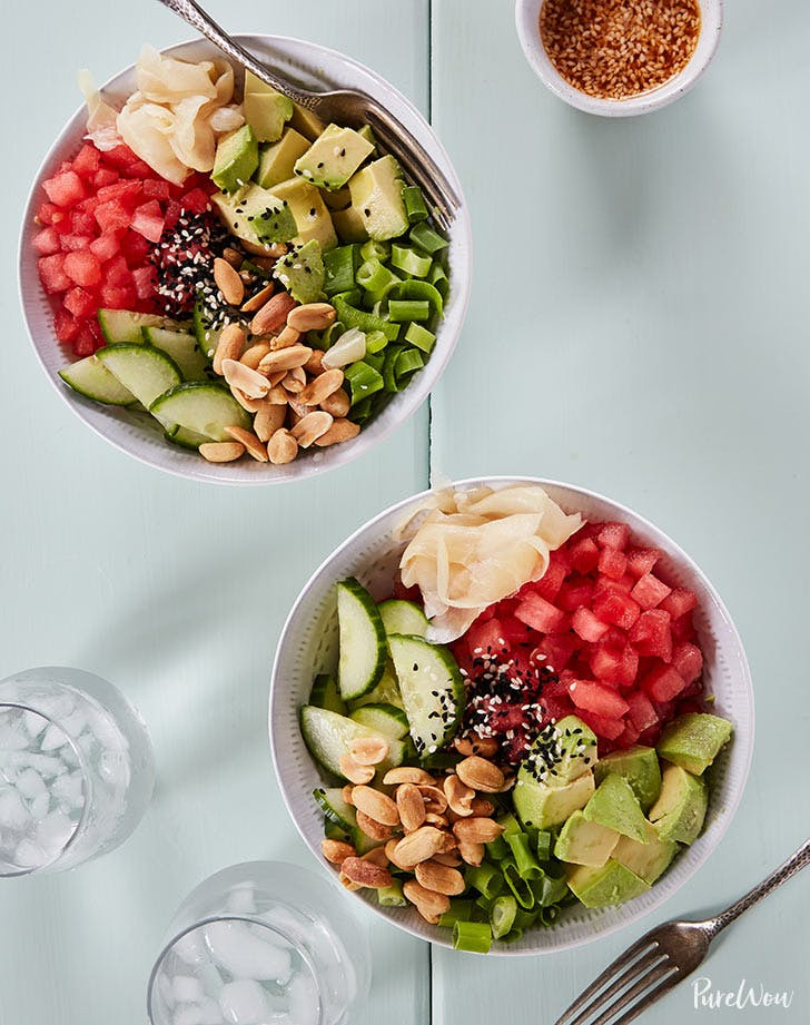 watermelon poke bowl 921