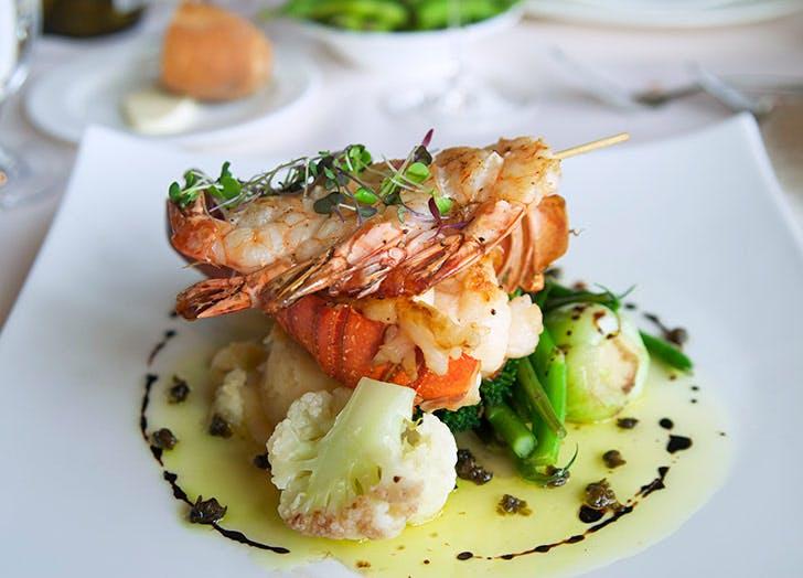 wedding lobster dinner 524