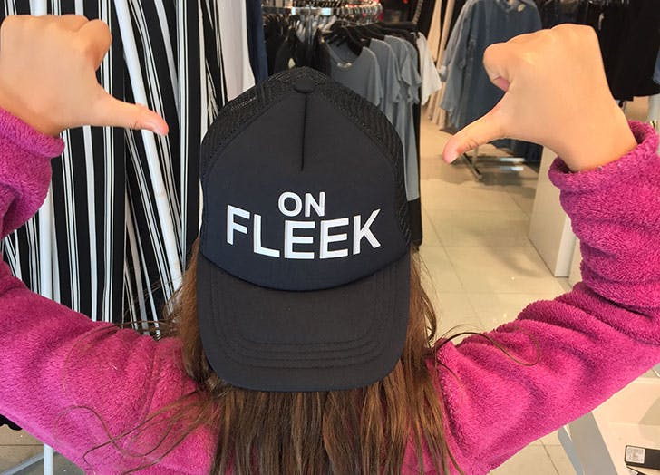 what does on fleek mean hero