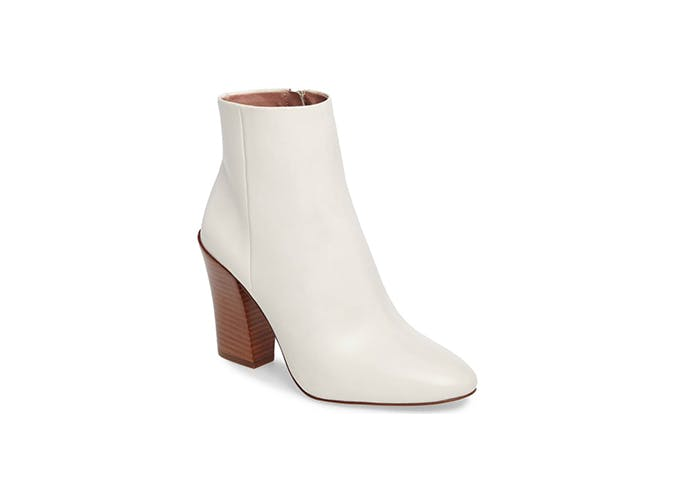white ankle boots for fall 1