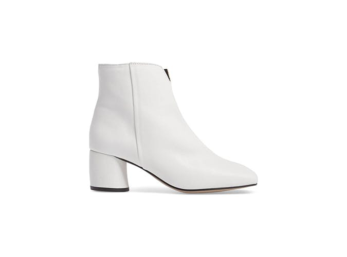 white ankle boots for fall 2