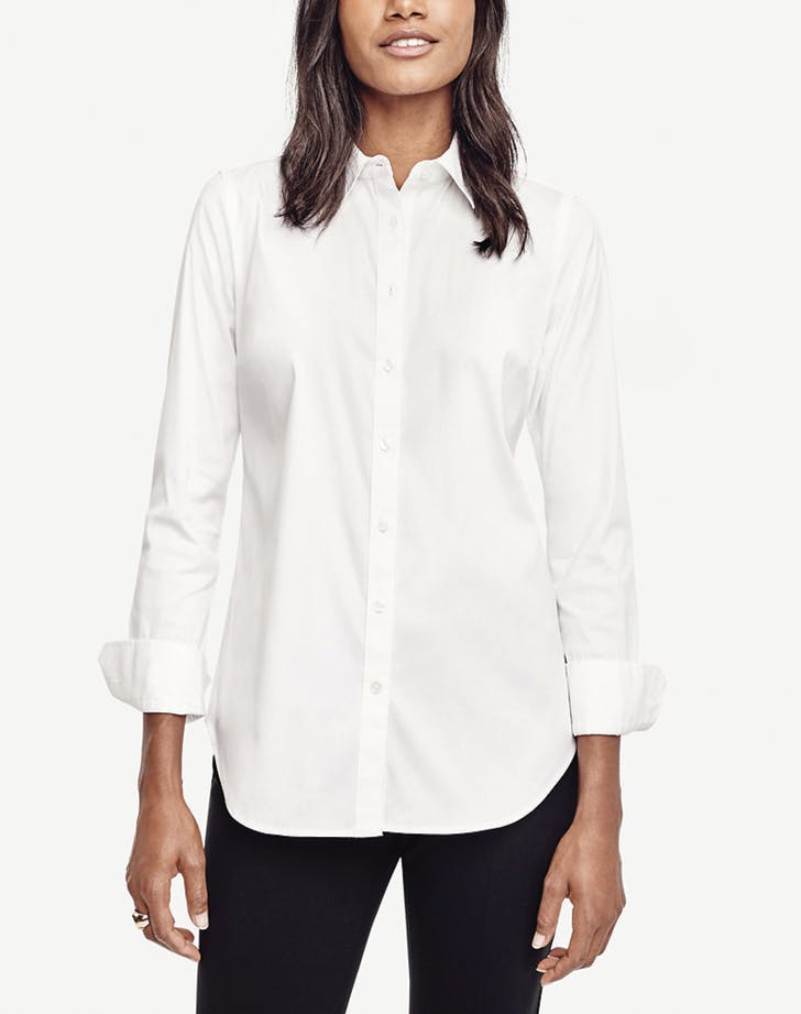 white shirt anntaylor