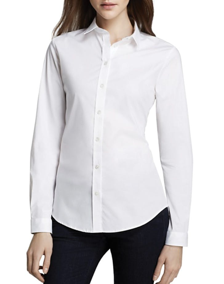 white shirt burberry