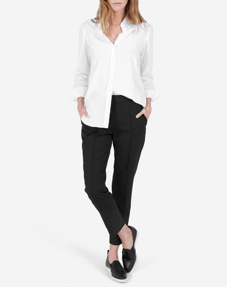 white shirt everlane
