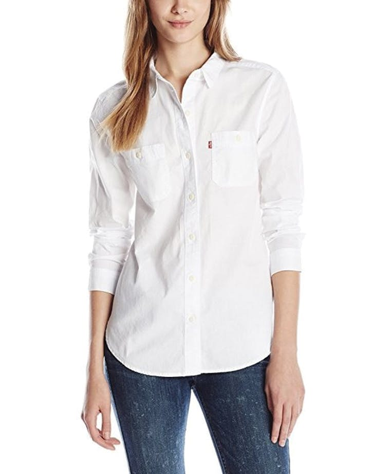 white shirt levis