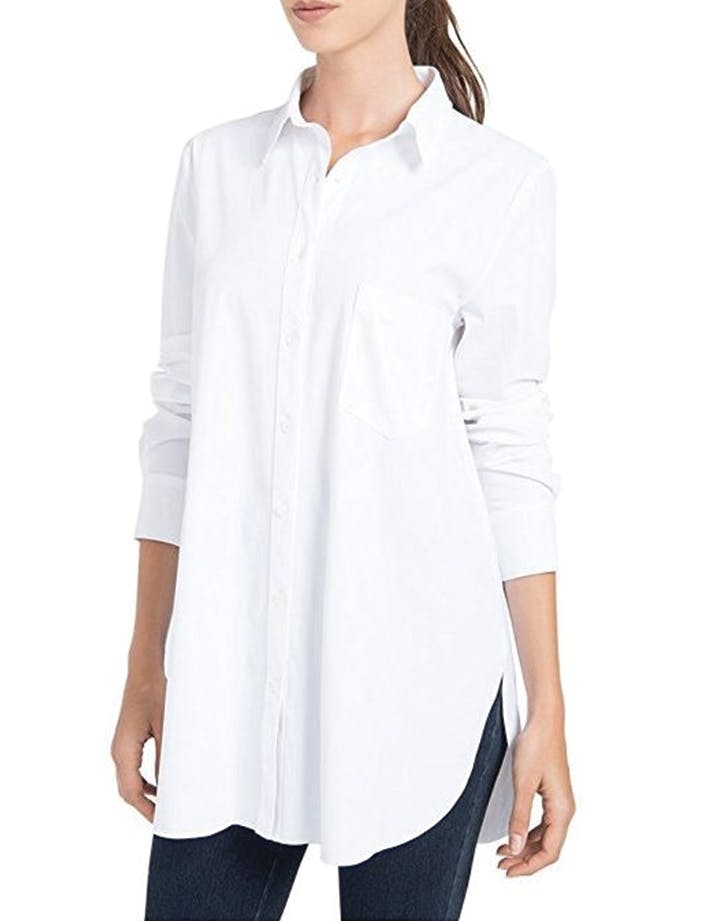 The Best White Button Down Shirts For Women Purewow