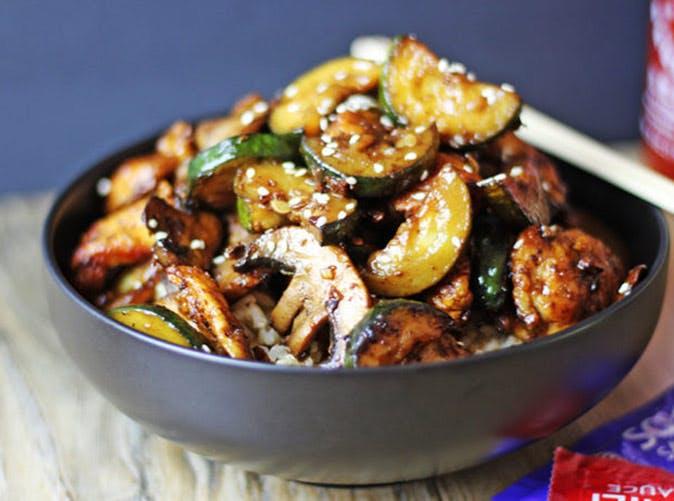 20 minute panda express mushroom chicken stir fry 501